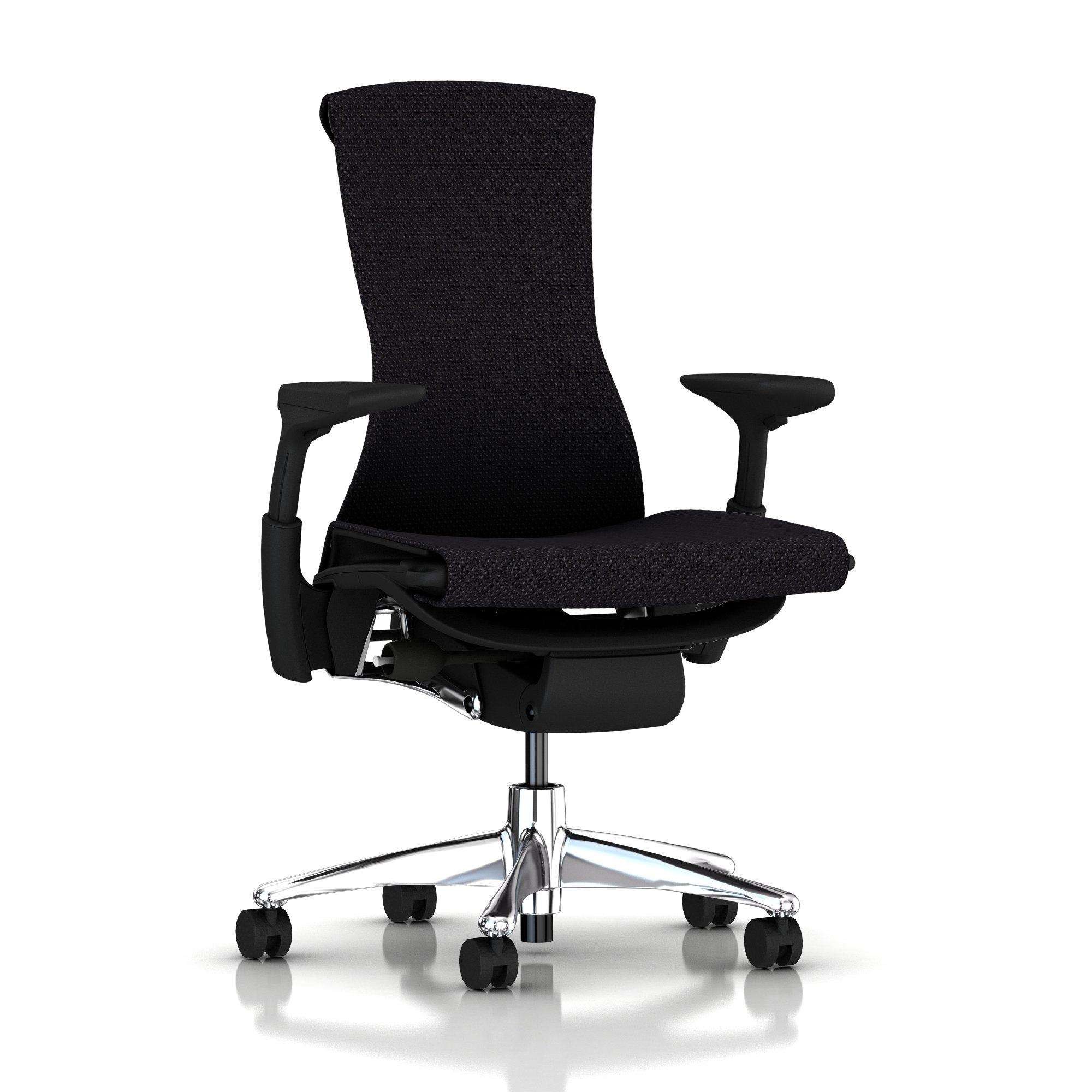 Herman Miller Embody Chair Black Balance with Graphite Frame and