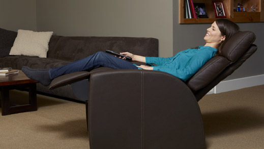 Positive Posture Luma Zero Gravity Recliner Chair A True