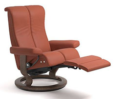 Stressless Piano Power LegComfort Classic Recliner Chair