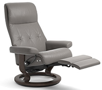 Stressless Sky Recliner Chair - LegComfort Wood Base