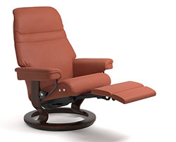 Stressless Sunrise Power LegComfort Classic Recliner Chair