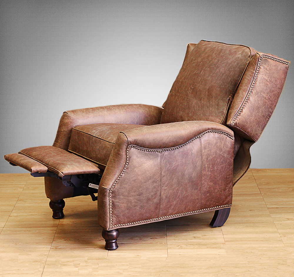 Barcalounger Recliner Ashton II Chair Havana Brown Leather & Barcalounger Ashton II Recliner Chair - Leather Recliner Chair ... islam-shia.org