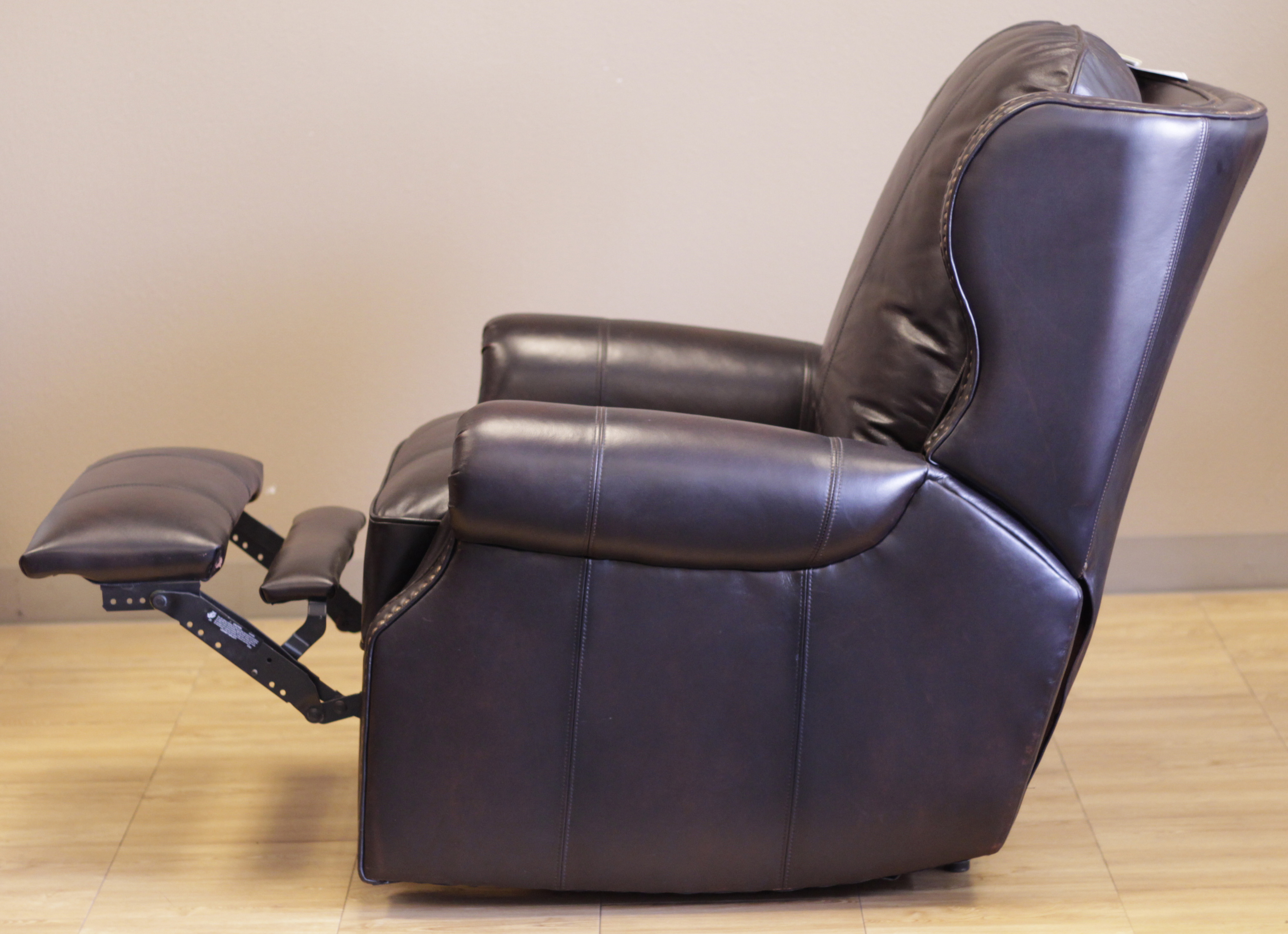 Barcalounger Bristol II Wall Hugger Recliner Chair - Leather ...