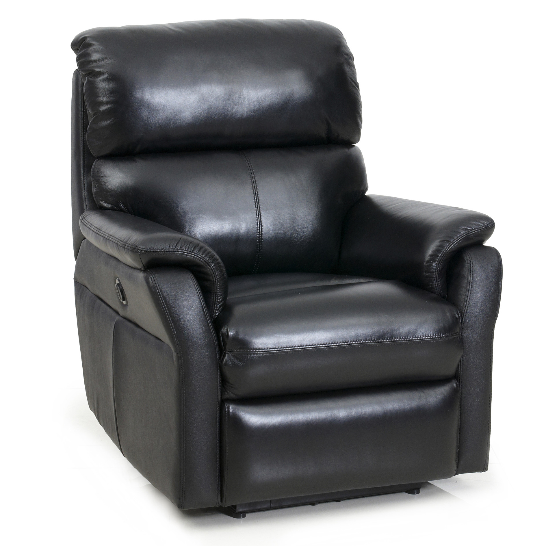Barcalounger Black Cross II Chair Power Tivoli Leather  sc 1 st  Vitalityweb.com : recliners that lay flat - islam-shia.org