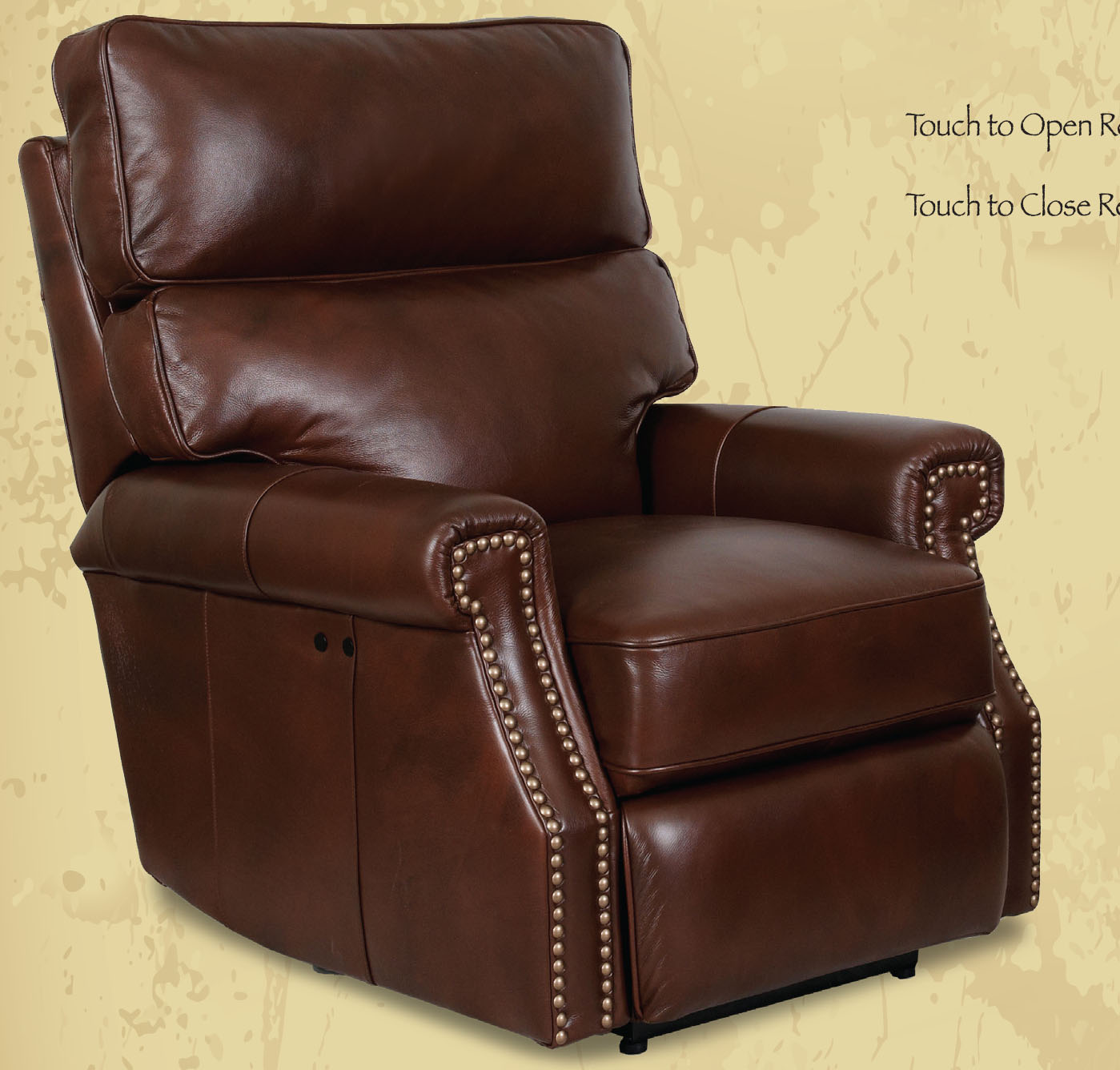 Barcalounger Lochmere II Recliner Chair Leather