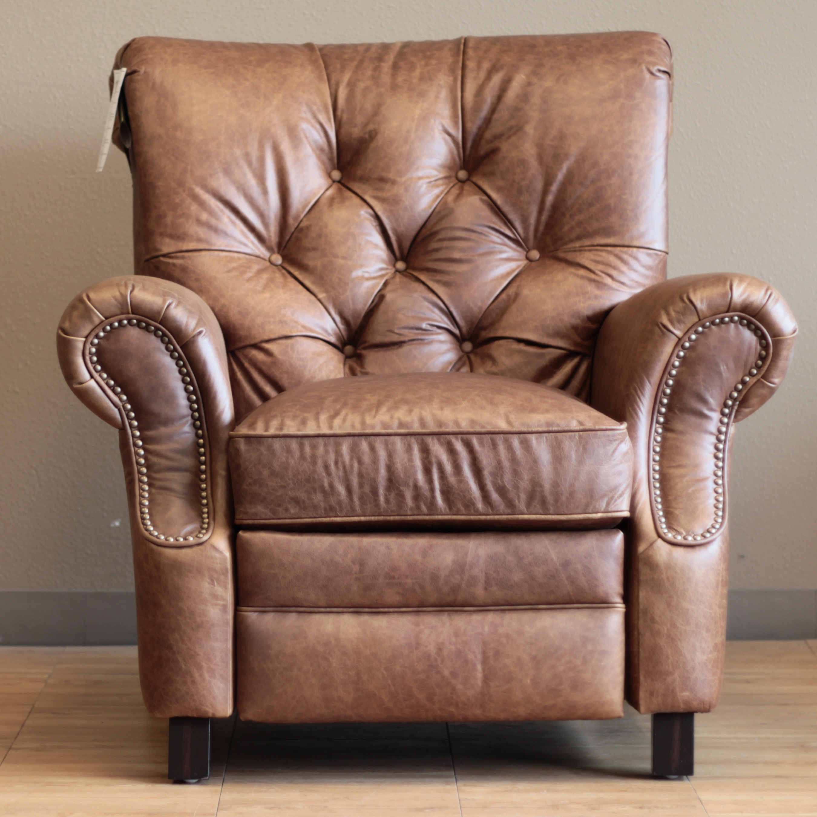 Barcalounger Phoenix Ii Leather Recliner Chair