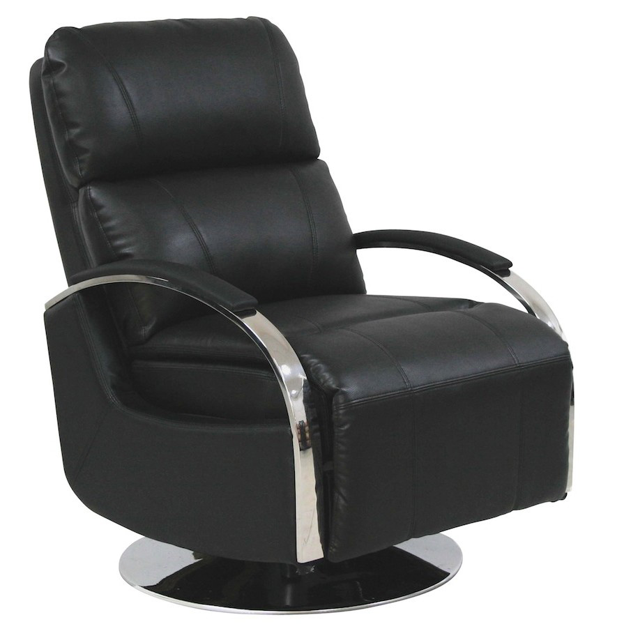Barcalounger Regal II Black Leather Recliner Chair  sc 1 st  Vitalityweb.com & Barcalounger Regal II Leather Recliner Chair - Leather Recliner ... islam-shia.org