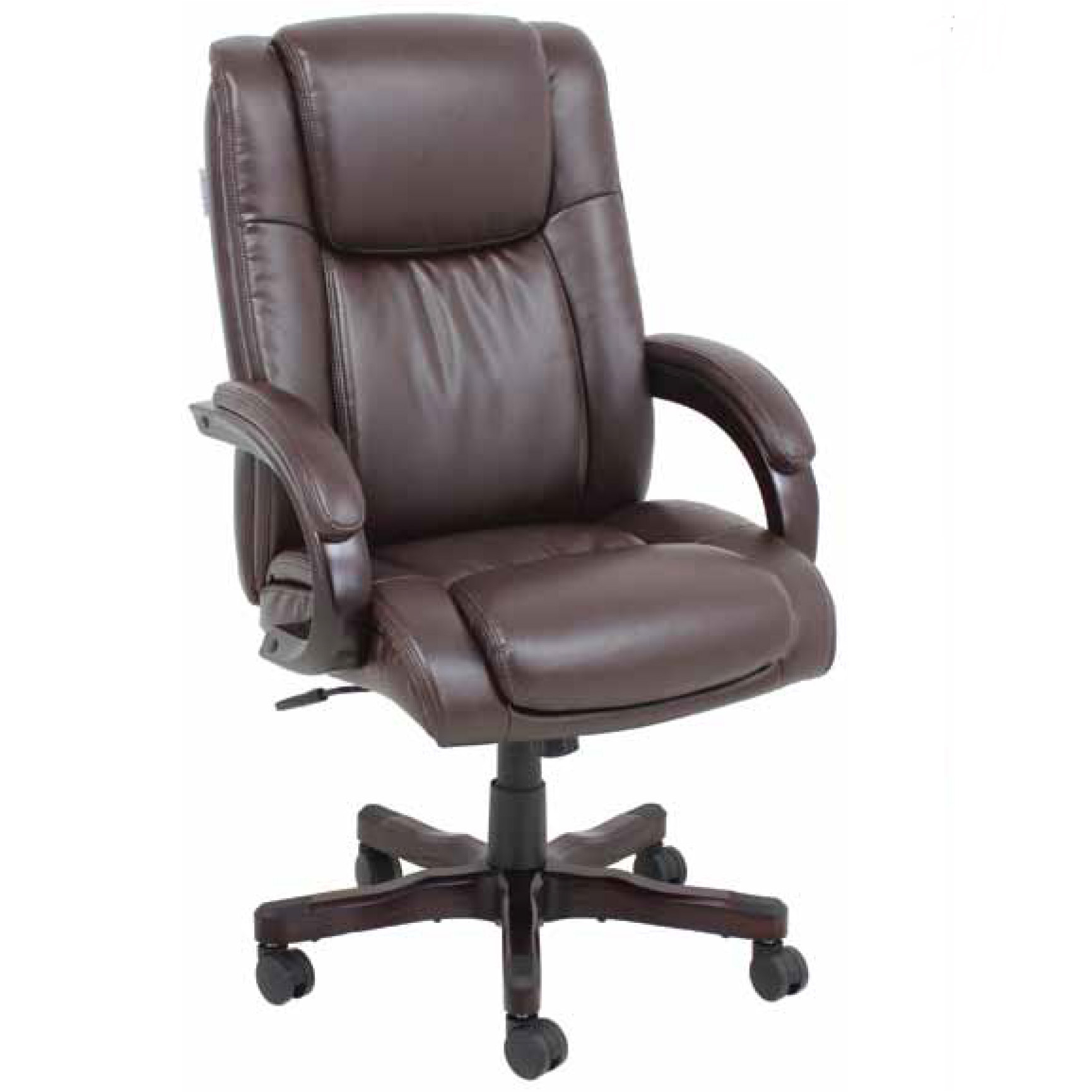 Barcalounger titan ii home office desk chair recliner for Home office chairs leather