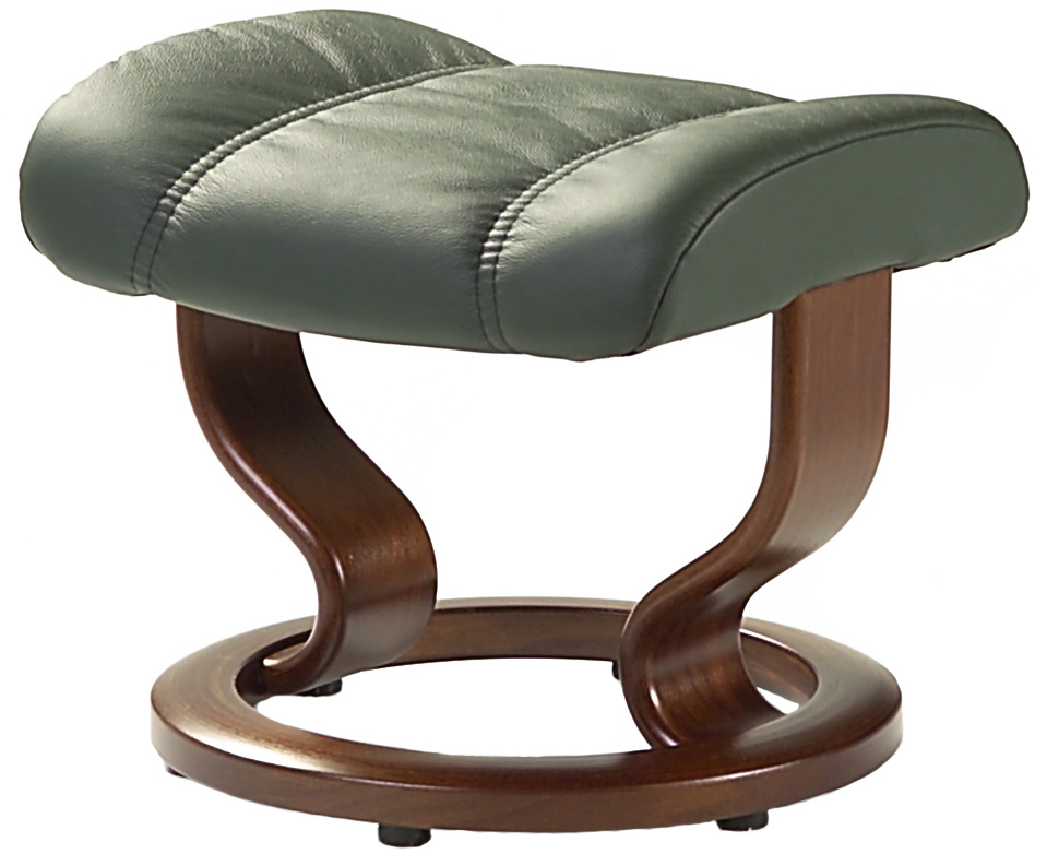 stressless leather recliner chair ottoman by ekornes