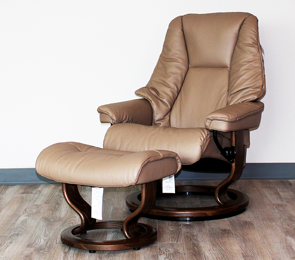 Ekornes Stressless Live Recliner Chair Lounger And Ottoman