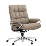 Stressless London Low Back Office Desk Recliner Chair by Ekornes