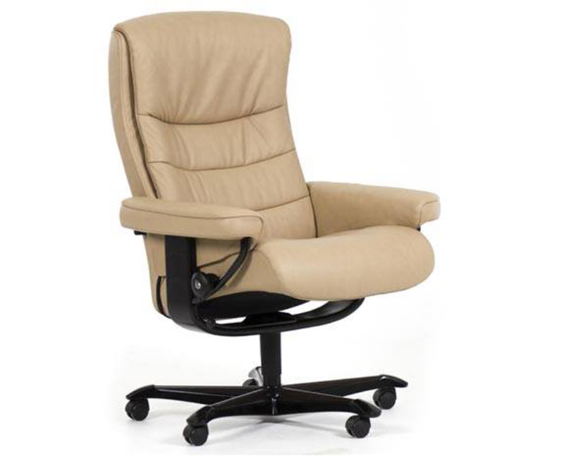 Ekornes Stressless Nordic Recliner Chair Lounger And Ottoman Ekornes Stressless Nordic