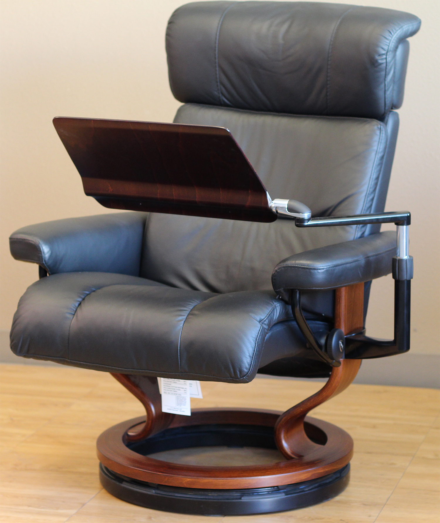 Stressless Recliner Personal Computer Laptop Table For