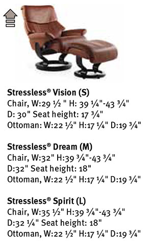 Stressless Dream Recliner Chair Ekornes Dimensions  sc 1 st  Vitalityweb.com & Ekornes Stressless Vision Dream Spirit Recliner Chair Lounger ... islam-shia.org
