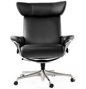 stressless jazz office desk chair by ekornes seating furniture. Black Bedroom Furniture Sets. Home Design Ideas