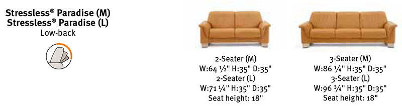 piece sectional stressless paradise by stressless by ekornes select bed mattress sale. Black Bedroom Furniture Sets. Home Design Ideas