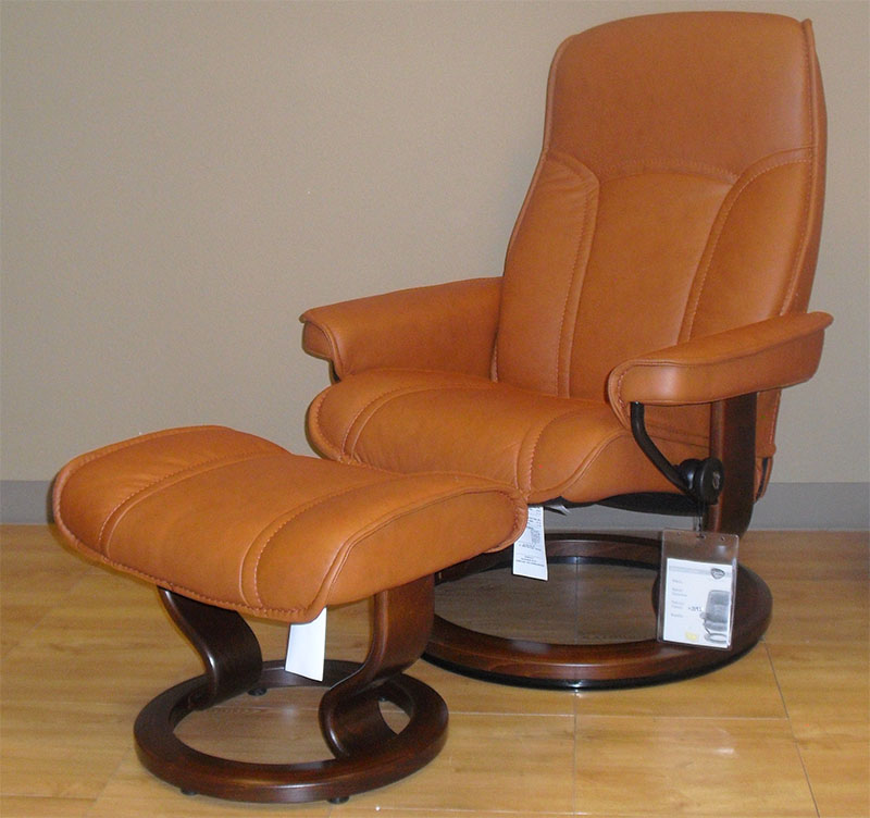 Stressless Paloma Brandy 09446 Leather By Ekornes