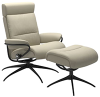 Stressless Tokyo High Back Recliner Chair with Adjustable Headrest by Ekornes