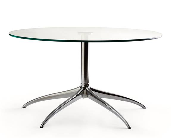 Amazing Stressless Large Urban Glass Table