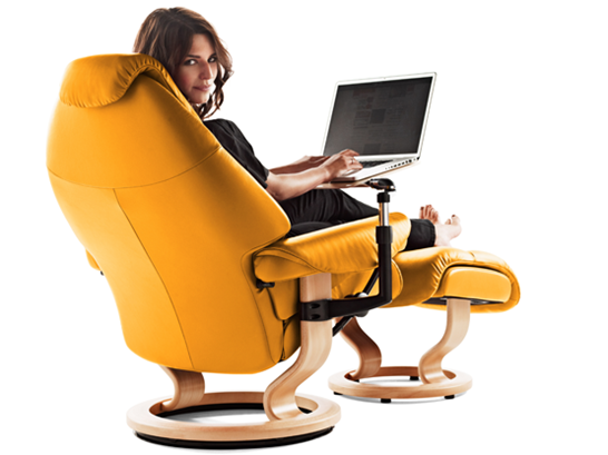 Stressless Voyager Recliner Chair by Ekornes  sc 1 st  Vitalityweb.com : stressless recliner chair - islam-shia.org