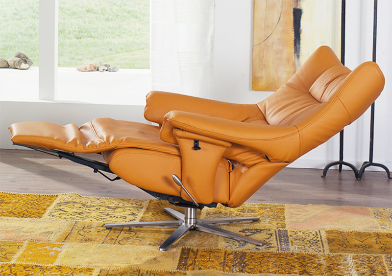 Himolla Harmony Zerostress Integrated Recliner Leather