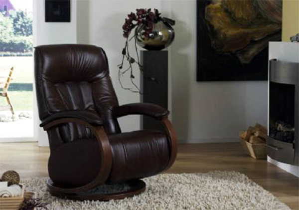 Himolla Mosel Leather ZeroStress Integrated Recliner Chair & Himolla Mosel ZeroStress Integrated Recliner Leather Chair - 8533-28S. islam-shia.org