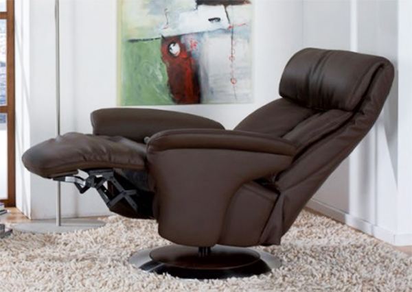 himolla sinatra leather zerostress integrated recliner chair