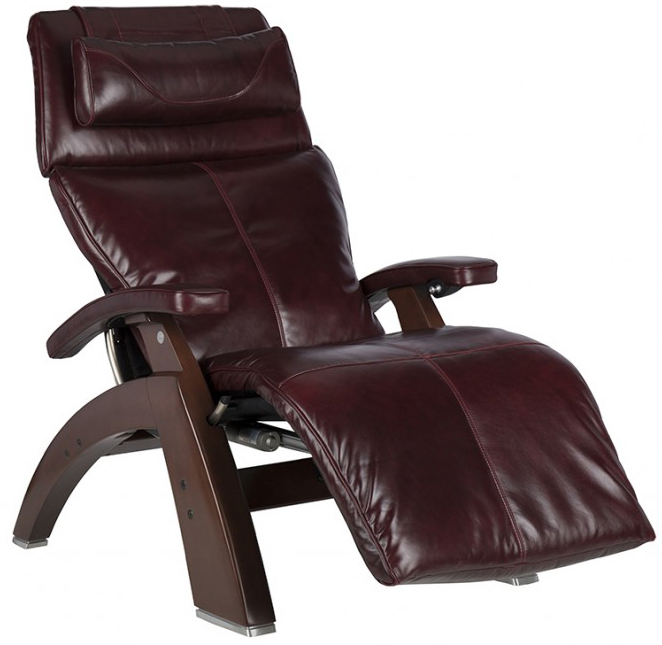 human touch pc610 omnimotion power perfect chair recliner burgundy premium leather