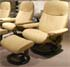 Stressless Ambassador Batick Latte Leather