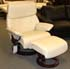 Stressless Spirit Recliner and Ottoman - Paloma Kitt Leather