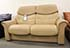 Stressless Liberty 2 Seat High Back LoveSeat Sofa in Paloma Sand Leather