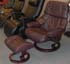 Stressless Tampa Paloma Chocolate Leather by Ekornes