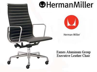Eames Aluminum Group Executive Office Task Desk Chairs by Herman ...