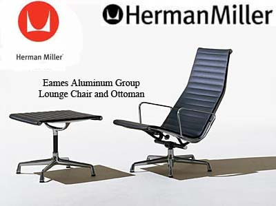 Eames Aluminum Group Lounge Office Task Desk Chairs By Herman Miller Ergonomic Seating Aeron Chair By Herman Miller