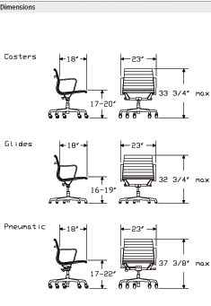 Desk Chair Plan Dimensions