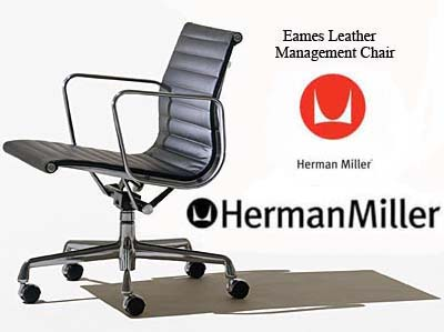 Eames Aluminum Group Management Office Task Desk Chairs By Herman Miller    Ergonomic Seating Aeron Chair By Herman Miller.