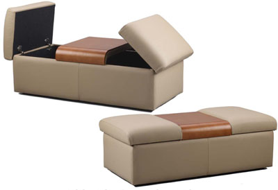 Fjords Amsterdam Ottoman   Shipping Included   $845