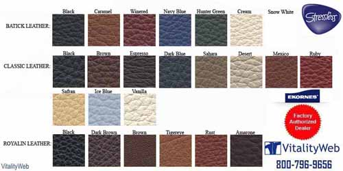 Stressless Cori Petrol 09193 Leather Colors