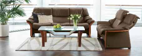 Granada High Back Sofa, LoveSeat, Chair And Sectional By Ekornes