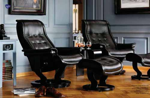 stressless royal recliners chairs stressless royal recliner black leather by ekornes