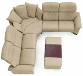 Paradise Stressless 6 Seat Sofa and Sectionals from Ekornes  sc 1 st  Vitalityweb.com : theater seating sectional sofa - Sectionals, Sofas & Couches