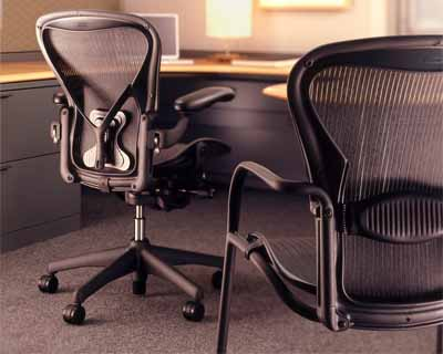 herman miller aeron side chair for the home or office ergonomic