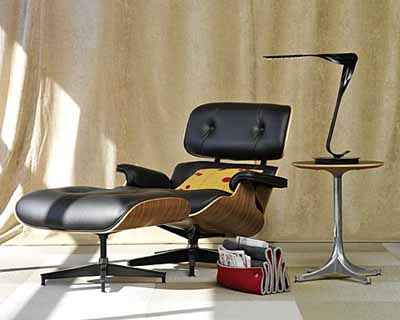 Phenomenal Herman Miller Eames Lounge Chair And Ottoman New Leather Creativecarmelina Interior Chair Design Creativecarmelinacom