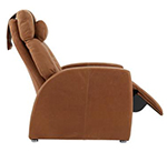 The Positive Posture Luma Designer Leather Zero  Gravity Recliner