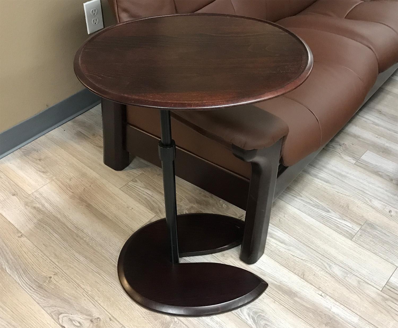 Stressless Ellipse Adjustable Wood Table For Ekornes