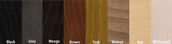 Stressless Wood Stain Colors by Ekornes