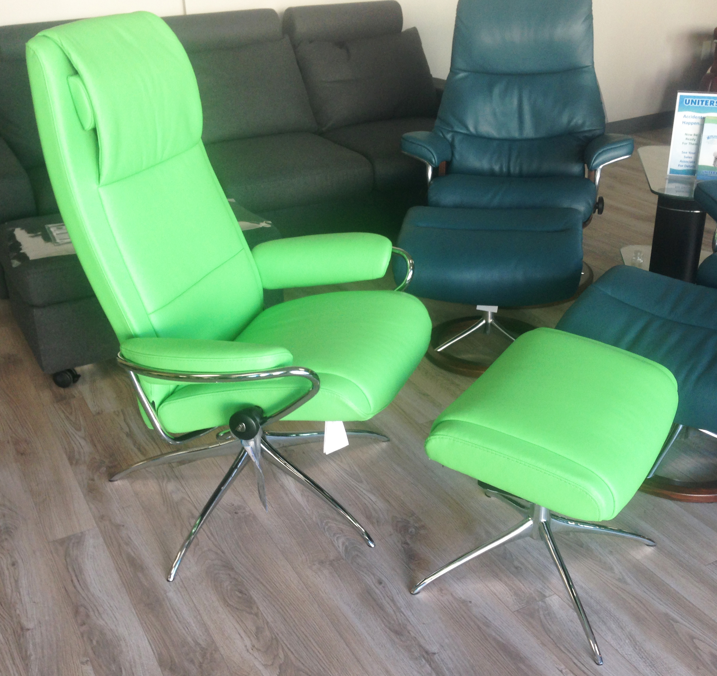 Fabulous Stressless Sofa Loveseat Recliner Chair And Ottoman By Ekornes Ocoug Best Dining Table And Chair Ideas Images Ocougorg