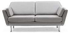 Stressless Air 2.5 Seater Duo Cushion Loveseat Sofa