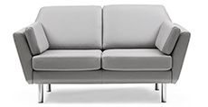 Stressless Air 2 Seater Duo Cushion Loveseat Sofa