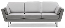 Stressless Air 3 Seater Trio Cushion Sofa